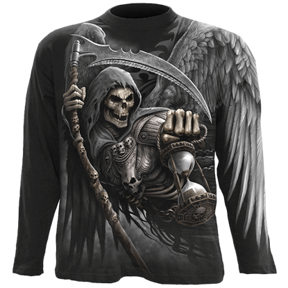 Death Angel Wrap Long Sleeve T-Shirt