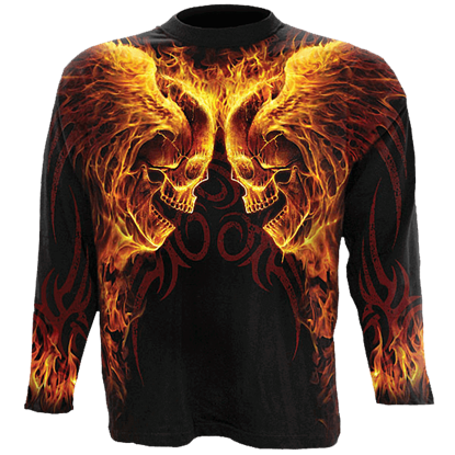 Hellfire Long Sleeve T-Shirt