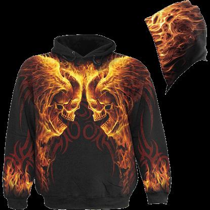 Hellfire Gothic Hoodie