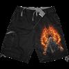 Flaming Death Cargo Shorts