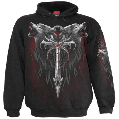 Black Legend of the Wolf Hoodie