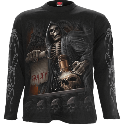 Judge Reaper Long Sleeve T-Shirt