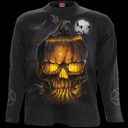 Witching Hour Jack o Lantern Long Sleeve T-Shirt