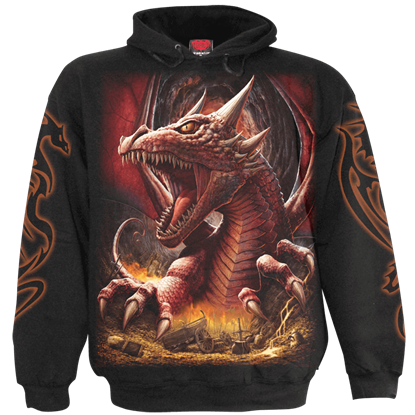Awake the Dragon Black Hoodie