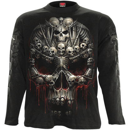 Death Bones Long Sleeve T-Shirt