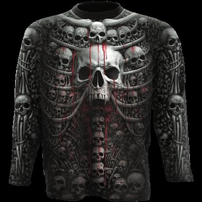 Death Ribs Long Sleeve T-Shirt