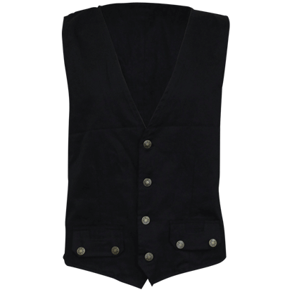 Gothic Rock Four Button Waistcoat