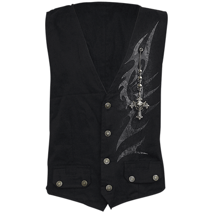 Shadow Master Four Button Waistcoat