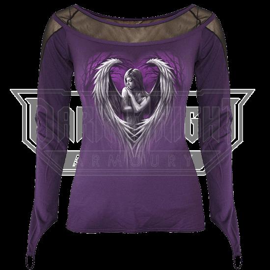 Angel Heart Fine Mesh Womens Shirt