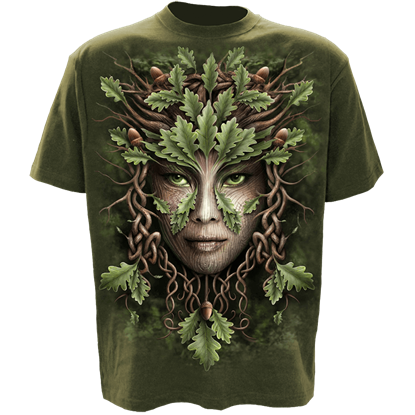 Oak Queen Celtic T-Shirt