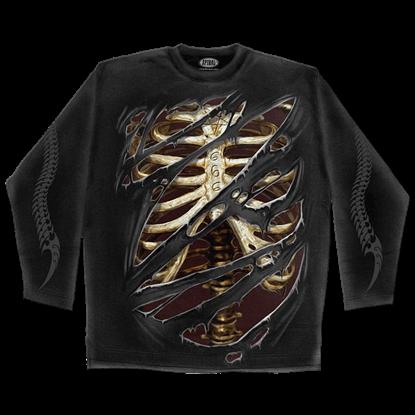 Devils Mark Mens Long Sleeve T-Shirt