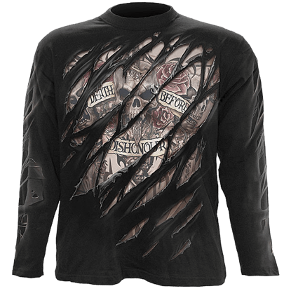 Death Before Dishonor Long Sleeve T-Shirt