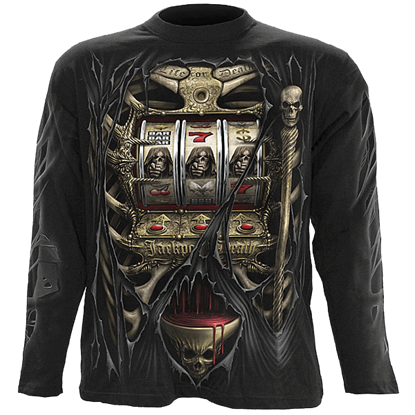 Jackpot Death Long Sleeve T-Shirt
