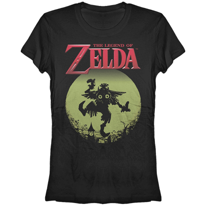 Juniors Legend of Zelda Majora Moon T-Shirt