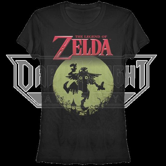 Juniors Legend of Zelda Majora Moon T-Shirt