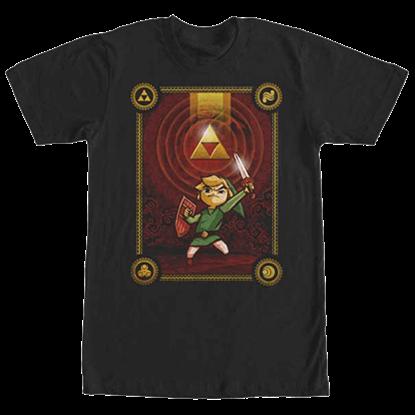 Legend of Zelda Triforce Dawn T-Shirt