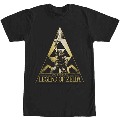 Golden Victor Legend of Zelda T-Shirt