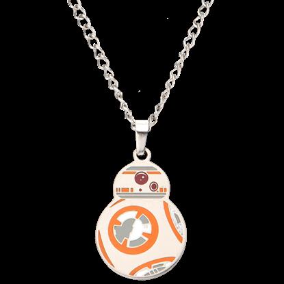 BB-8 Enamel Pendant Necklace