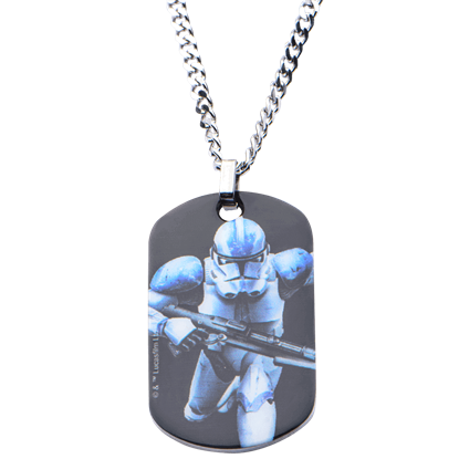 Action Clone Trooper Dog Tag