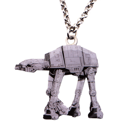 AT-AT Graphic Necklace