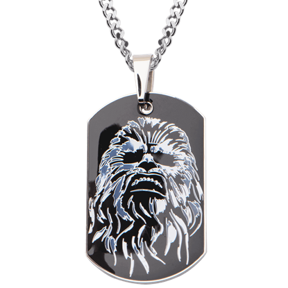 Chewbacca Dog Tag Necklace