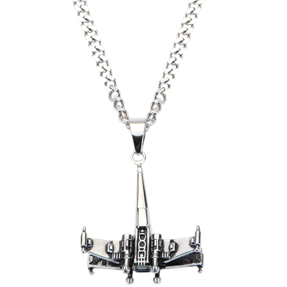 X-Wing Starfighter Necklace