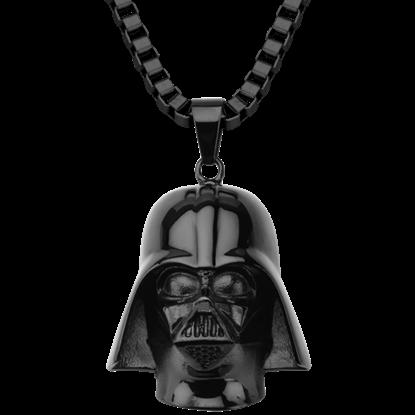 Darth Vader Black Mask Necklace