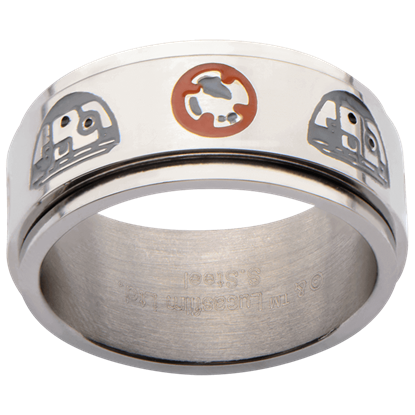 BB-8 Symbols Spinner Ring