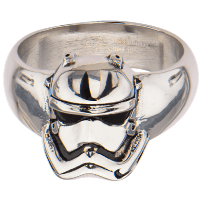 First Order Stormtrooper Helmet Ring