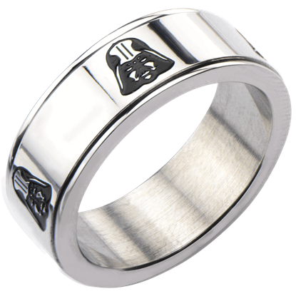 Darth Vader Helmet Spinner Ring