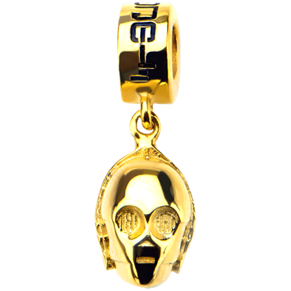 C-3PO Face Dangle Charm