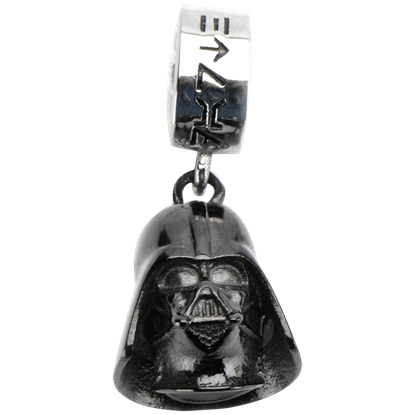 Darth Vader Black Dangle Charm