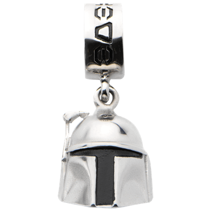 Boba Fett Helmet Dangle Charm