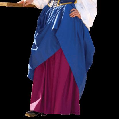 Medieval Gathered Skirt