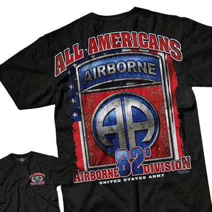 Army 82nd Airborne All American T-Shirt