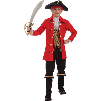 Boys Captain Cutlass Costume