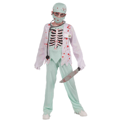 Undead Doctor Boy's Costume