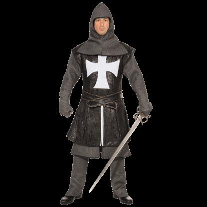 Black Knight Mens Costume