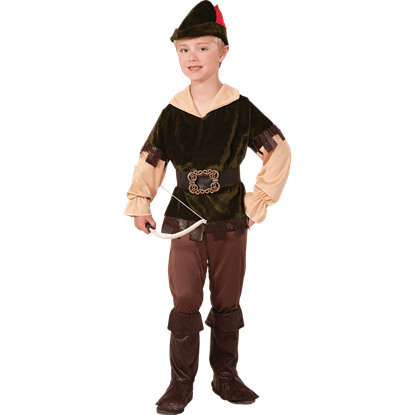 Boys Archer Woodsman Costume