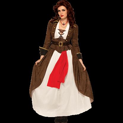 Womens Lady Matey Costume
