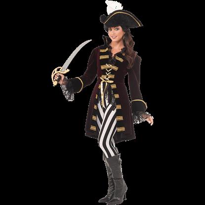 Womens Captain Morgana Costume