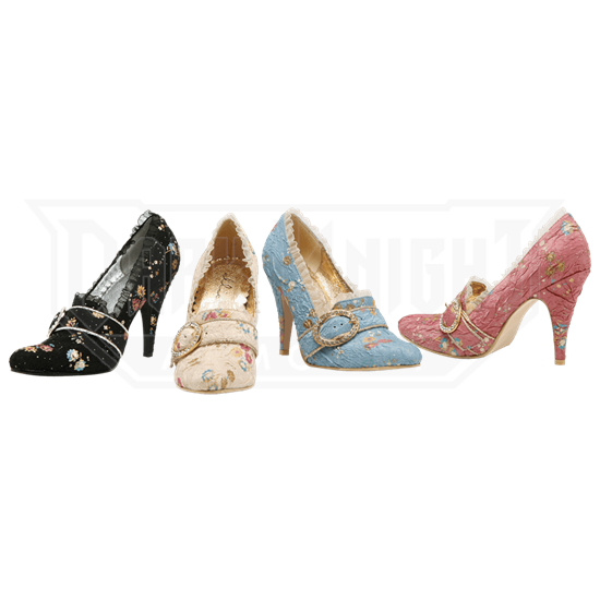 8bf3e88059ce0 Marie Antoinette Heels - FW1030 from Leather Armor, Leather Armour, Steel  Armor, SCA armor, LARP armor, Medieval armor, Fantasy armor from Dark  Knight ...