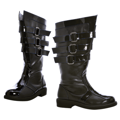 Banded Combat Boots