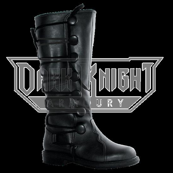 285de4383e4d8 Laced Medieval Boots