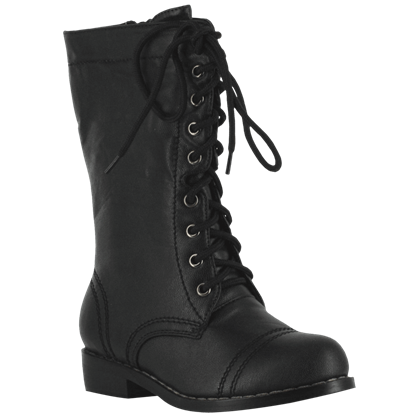 Childrens Combat Boots