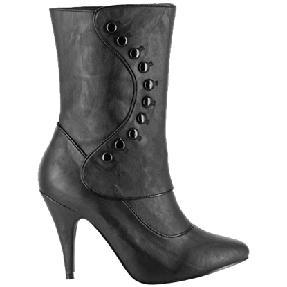 Black Victorian Ankle Boots