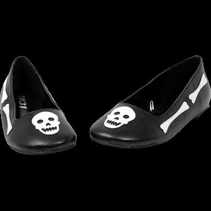 Happy Bones Ballet Flats
