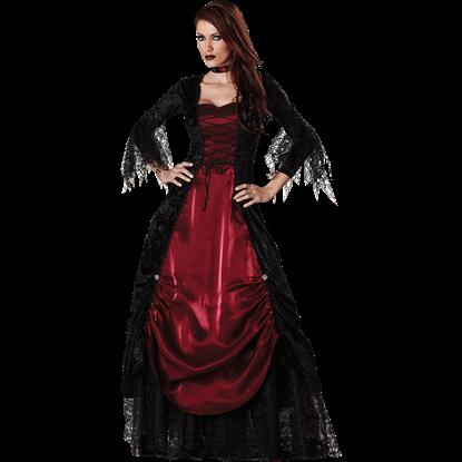 Gothic Vampira Women's Costume