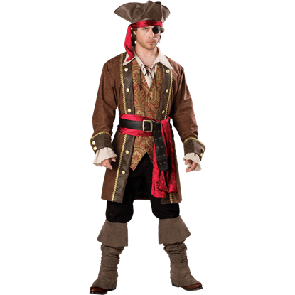 Captain Skullduggery Men's Costume