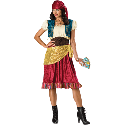 Gypsy Women's Costume